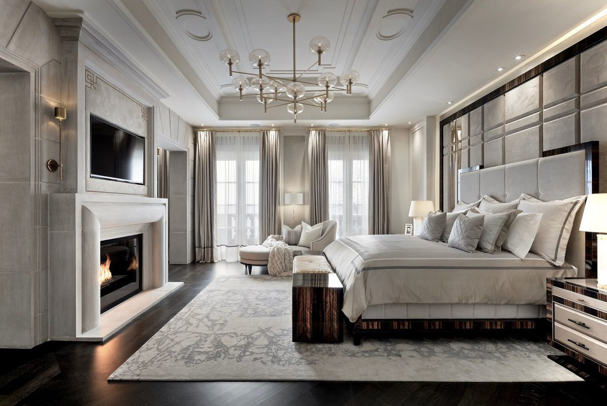 Rafauli Iconic Luxury Design Master Bedroom
